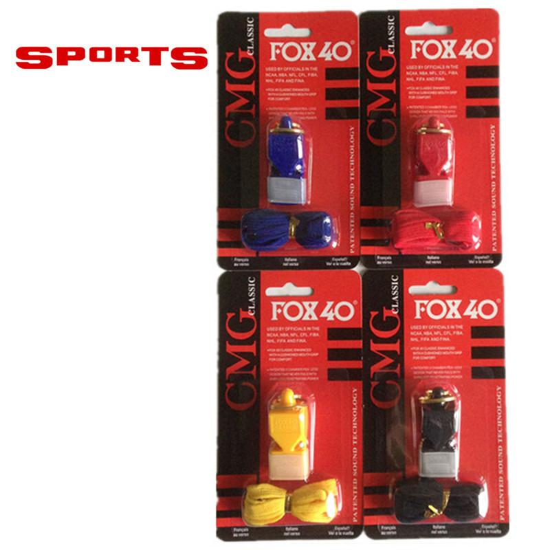 EDCGEAR fox40 Whistle Plastic FOX 40 Soccer Football Basketball Hockey Baseball Sports Classic Referee Whistle Survival Outdoor(China (Mainland))