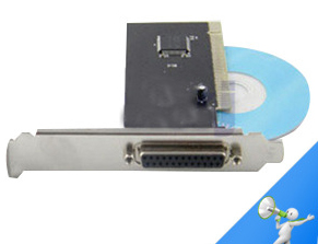 Factory Direct PCI Parallel Card PCI Turn the Printer Connected to 25-Hole 25-Pin Device Expansion Card(China (Mainland))