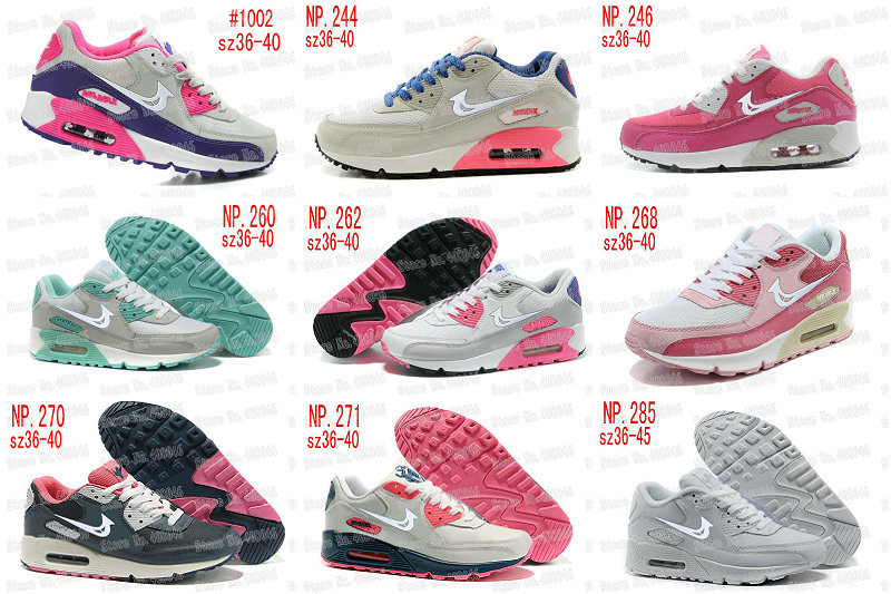 2015 new 90 Running shoes women/men's max Sports Running shoes size 36-45 @23(China (Mainland))