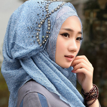 Aramex 2016 Muslim Wedding Veil Bridal Veil More color Beaded Jewels Wedding Accessory Bridal Veils(China (Mainland))
