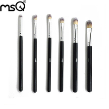 Best Quality 6pcs Premium Synthetic Kabuki Makeup Brush Set Professional Cosmetics Foundation blending brushes,Free Shipping