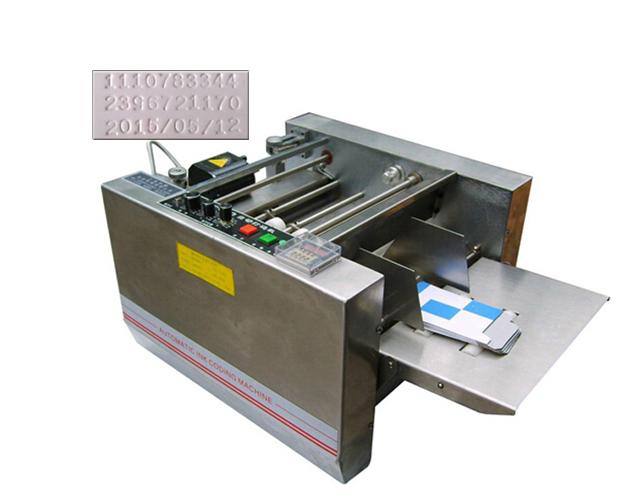 MY-300 expiry date printer, impress or solid-ink coding machine,box produce date printing machine(China (Mainland))