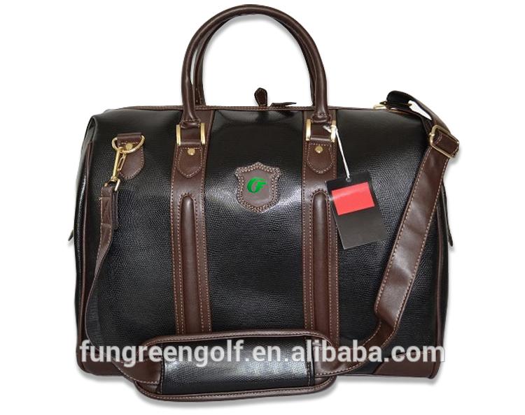 Fashion Men Import PU Practical handbag Custom Golf Clothing Bag(China (Mainland))