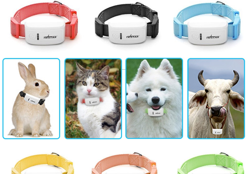 Horses and sheep dogs and cats GPS pet locator anti- lost car anti-theft tracking Tracking miniature pet collars(China (Mainland))