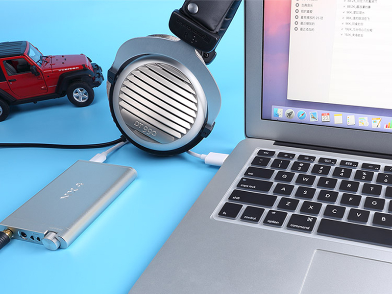 Topping NX4 Portable Headphone Amplifier with built-in USB DAC