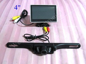 4inch Digital Monitor Mini Car Rear View Camera System
