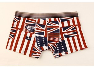 Men underwears 2015 Brand New Cheap Cotton men s boxers low waist Men underwears male cartoon