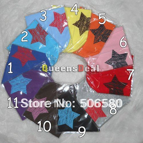 Lightning-fast delivery!  20Pcs/Lot  Big Star Cute Beanie Star Hat Skull Cap 1-3 Years Toddler Infant Baby Boys &Girls Wholesale