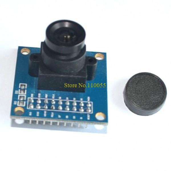 ov7670 camera module Supports VGA CIF auto exposure control display active size 640X480(China (Mainland))
