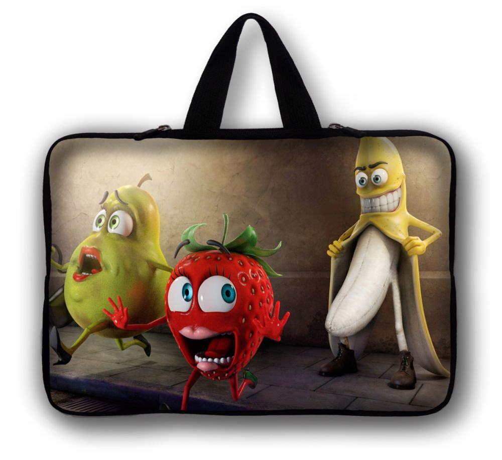 """Fruit Family Case 15"""" Laptop Bag Case Cover Notebook Case Pouch For 15.6"""" HP Pavilion,Dell Acer Notebook(China (Mainland))"""