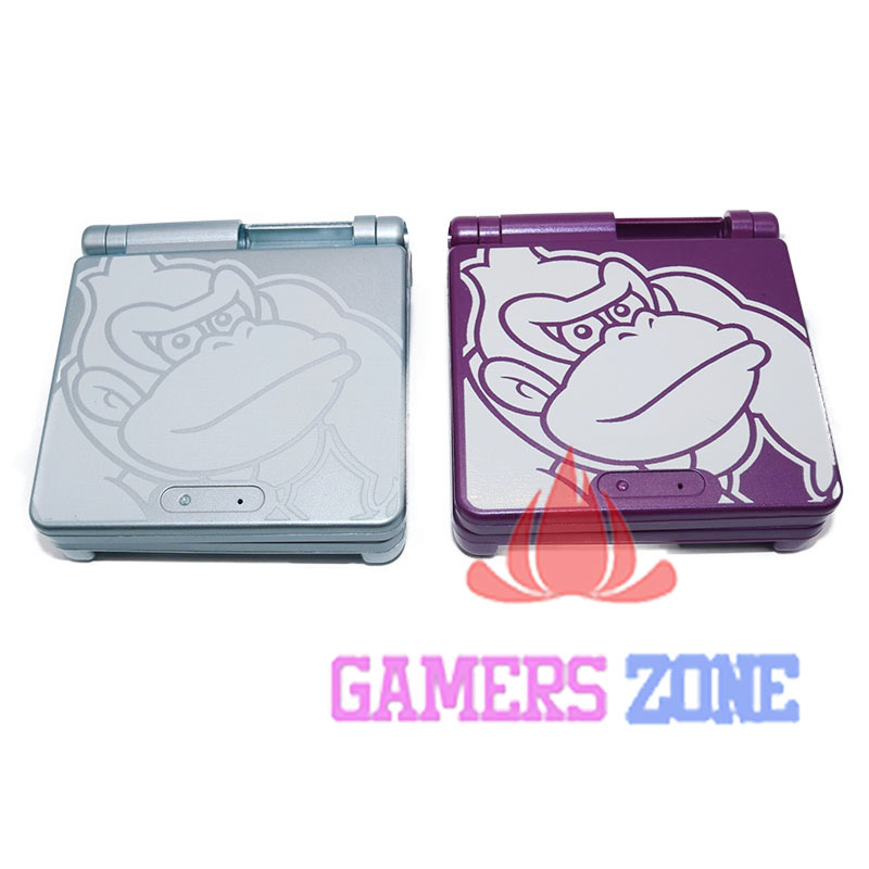 For King Kong Version Housing Shell Case Cover Part for Nintendo Gameboy Advance SP Purple out