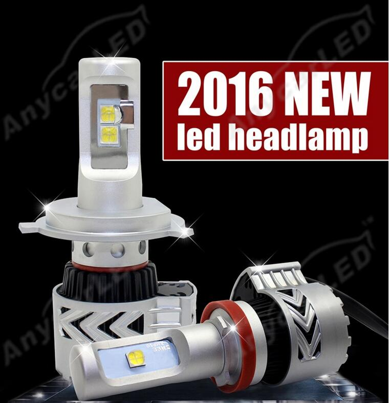 1 Set 80W 12000LM G8 LED Headlight XHP-50 Chips Super Bright Xenon White 6000K Driving Fog DRL Headlamp H4 H7 H8 H11 9005 9006