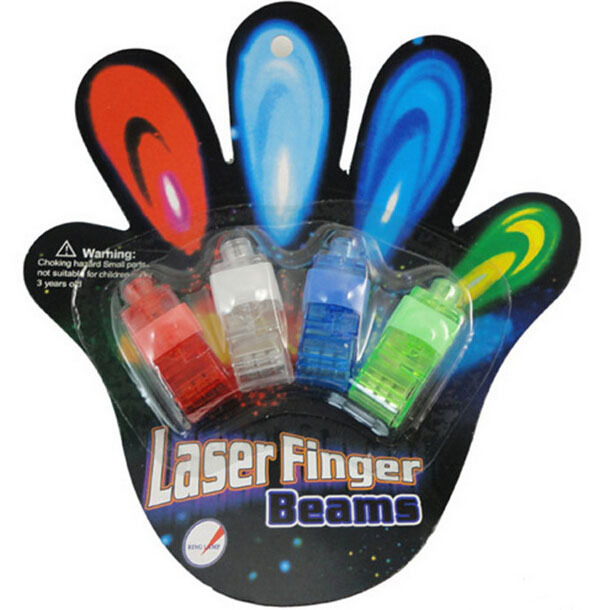 Creative LED Finger Light Luminous Laser Finger Beams Color Flash Finger Lamp Light-Up Party Educational Toy(China (Mainland))