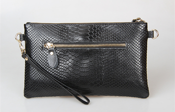 Women's Genuine Leather Wristlet