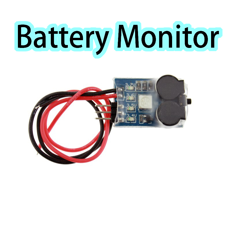 3 In 1 Battery Monitor Discovery Matek Buzzer Signal Loss Alarm RC Lipo Battery Voltage Meter Monitor Tester &Low Voltage Buzzer(China (Mainland))