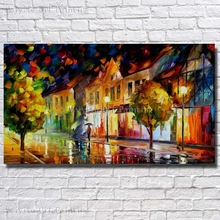 Buy BA Oil Painting Palette Knife Modern Abstract Landscape Canvas Oil Painting Wall Art Living Room Wall Decoration Large Size for $13.79 in AliExpress store