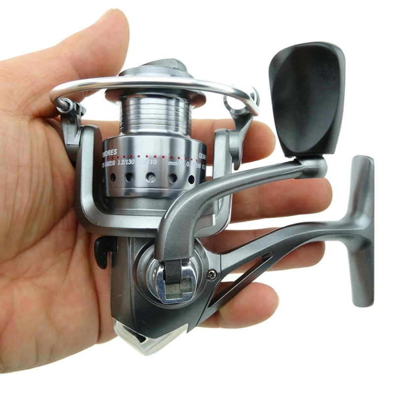 Practical 6 BB Ball Bearing High Speed Gear Fishing Spinning Reel TB1000 220g(China (Mainland))