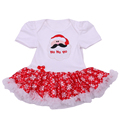 2017 Christmas Party Costume Newborn Girl Romper Dress Christmas tree Tutu Dress Baby Girl Climbing Clothes My 1st Christmas