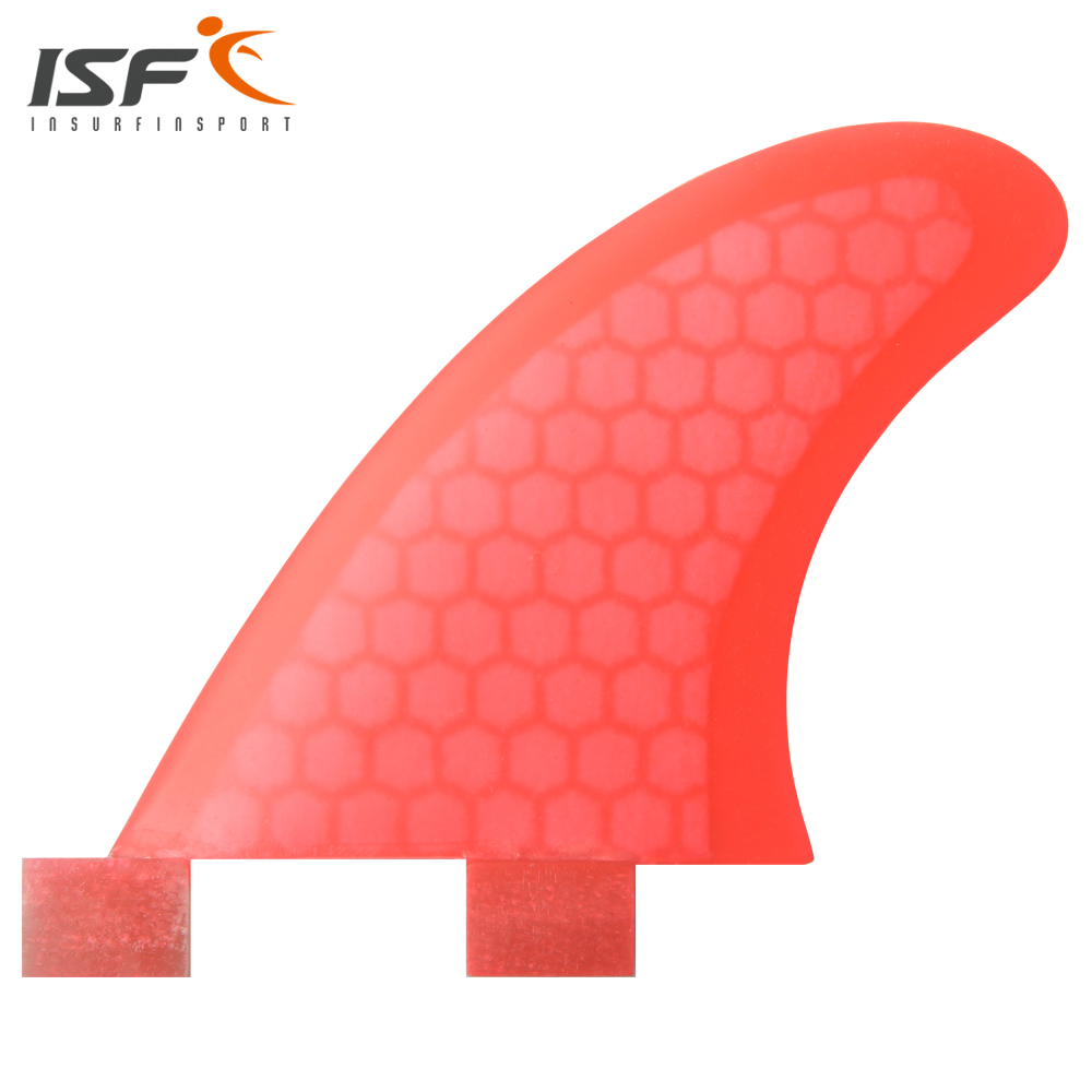 Insurfin Surfboard Fins GL fin Set (2) FCS Compatible Red Select Color GL Surf Fin(China (Mainland))