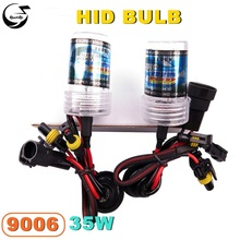 Buy 9006 35W 12V Car Styling HID Xenon Bulb Headlight Lamp Replacement Auto Motorcycle Light Source 3000K 4300K 6000K 8000K 12000K for $8.74 in AliExpress store
