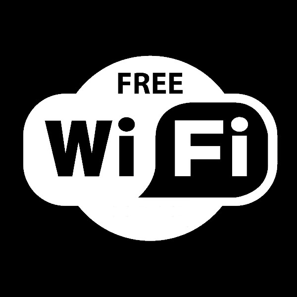 Hot Sale!!! Free WiFi Sign Decal Sticker For Shop Office Cafe Bar Pub Restaurant Window Wall Lowest Price(China (Mainland))