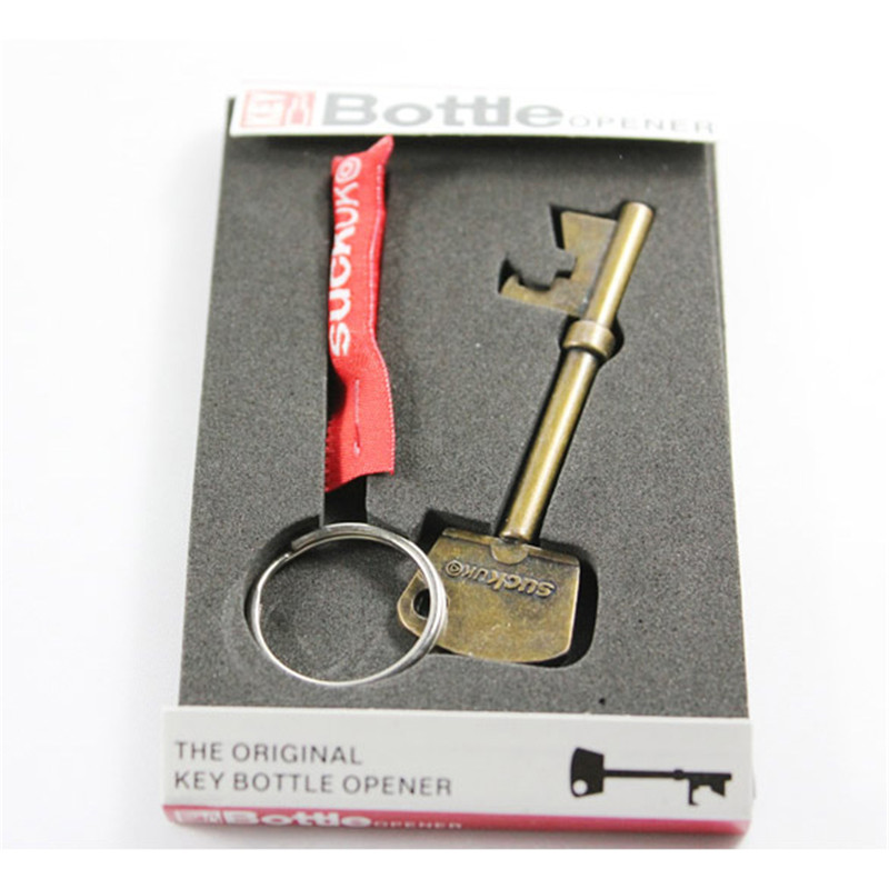 Гаджет  H3#R NEW Key Shape Steel Bottle Openers for Keychain I1 None Дом и Сад