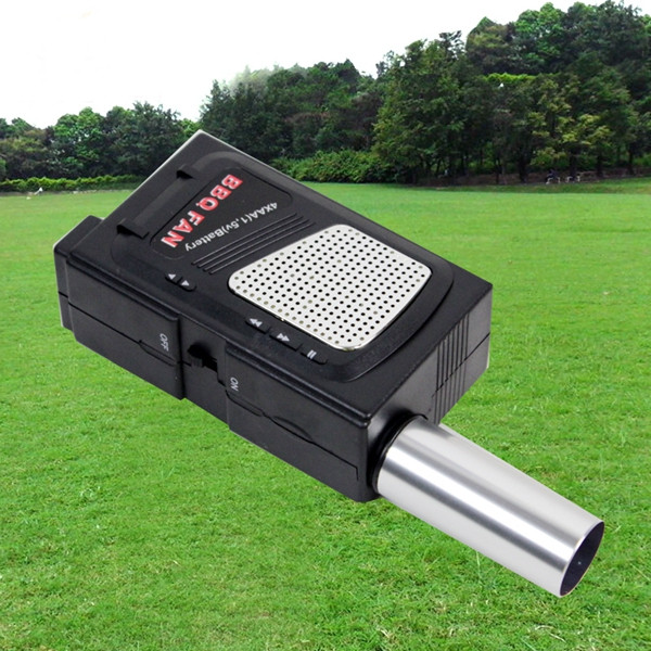 New Useful Electricity Manually BBQ Fan Air Blower For Barbecue Tools Pressing Fire Bellows BBQ helper Portable Camping tool(China (Mainland))