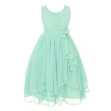 Buy Girls Gown Ball Flower Kids Clothes Children Clothing Dress Kids Baby Clothing Baby Summer Wedding Princess Dress for $8.21 in AliExpress store