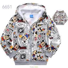 2016 New arrival free shipping children' clothing  spring autumn cartoon 100% cotton  sweatshirt outerwear  hoodies(China (Mainland))