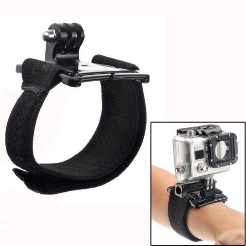 GoPro Hero Accessories Black Elastic Adjustable Wrist Strap Mount for GoPro Hero 4 3 3 2