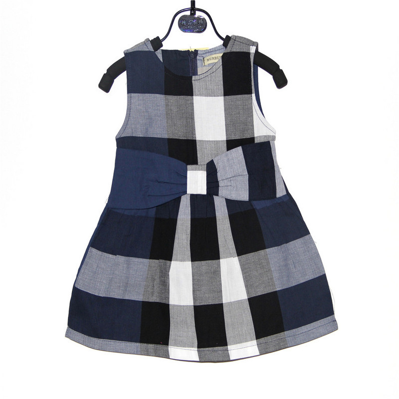 brand new girls dress kids dress toddlers dress red beige navy wholesale price(China (Mainland))