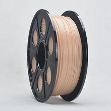 3d Накаливания Принтер ABS 1.75 мм 1 КГ Катушка Цвет Кожи Impressora Накаливания для makerbot reprap не Варенье Сопла(China (Mainland))