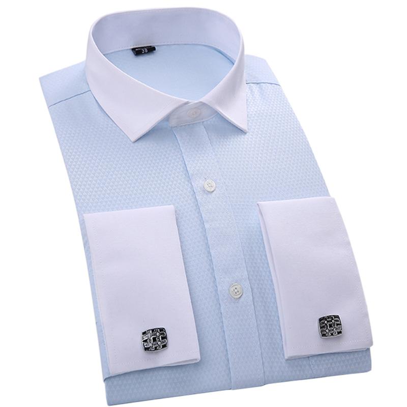 Buy 2016 autumn new formal men dress for Dress shirt for cufflinks