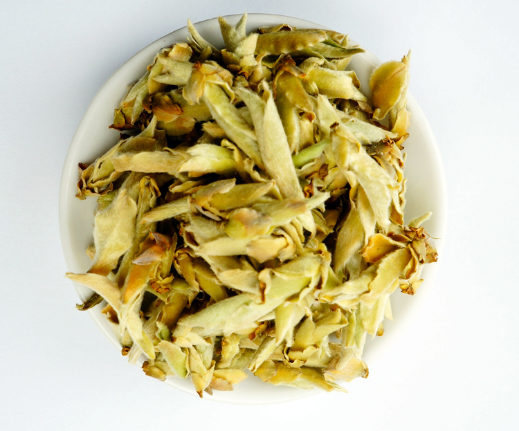 Free shipping quote green pu 'er tea loose tea of wild white spore/bud bud/bird mouth first 50 grams(China (Mainland))