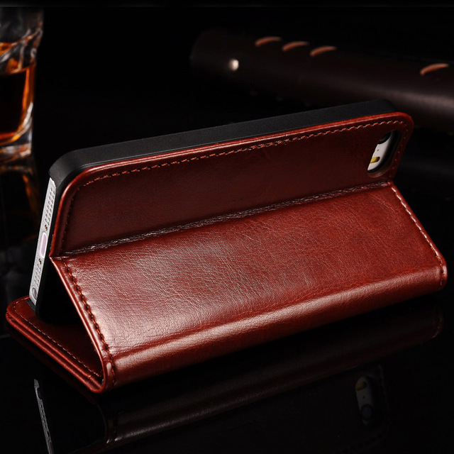 Etui iPhone 5C Leather Wallet 3 kolory