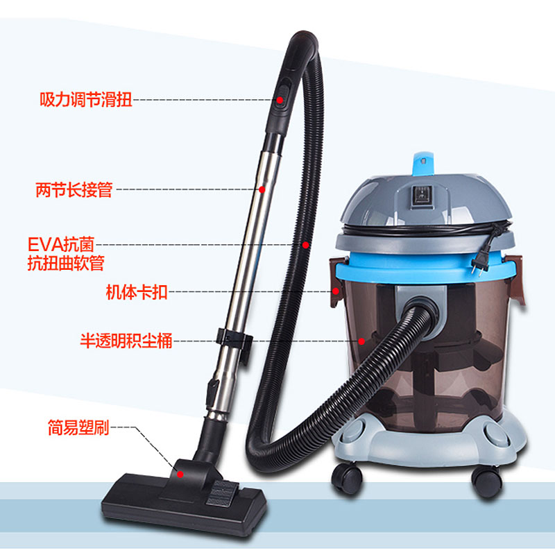 German quality high power water filtration vacuum cleaner household wet and dry mute mites strong toner without supplies(China (Mainland))