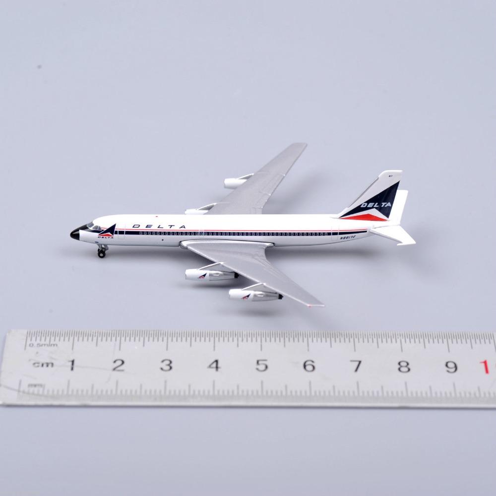 Inflight 500 Diecast 1/500 Airplane Model DELTA Airways CONVAIR 880 N8817E White Aircraft(China (Mainland))