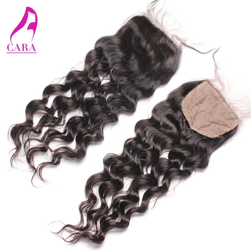 Silk Base Closure 6A Unprocessed Cambodian Virgin Hair Loose Wave 3 Part Silk Top Lace Closure 4x4 <br><br>Aliexpress