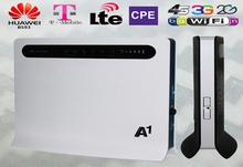 Chegada nova Huawei B593U-12 FDD-LTE 4 G sem fio CPE local de teste 4 G WiFi Router com SIM Slot para cartão grátis frete