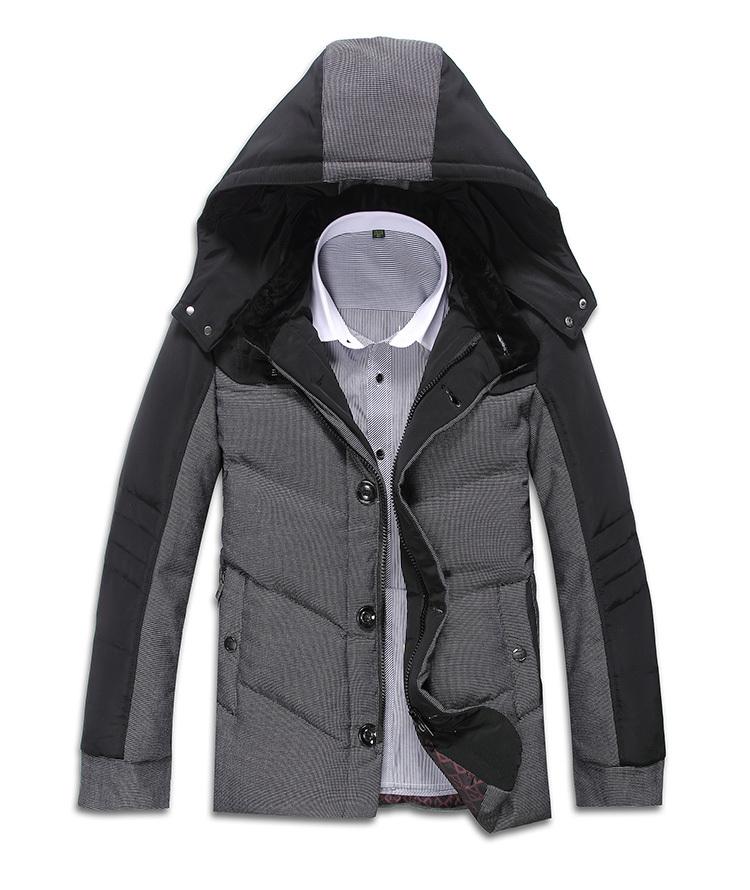2015 New Winter Thick Jacket Men Down Coat Man Casual style Coat Outdoors Warm Parka Men Free MJ56(China (Mainland))