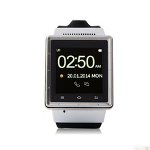 2014 free Shipping Smart Watchphone Smartphone Smartwatch Mtk6577 Dualcore 4 0 Touch Screen 3g Gps 2