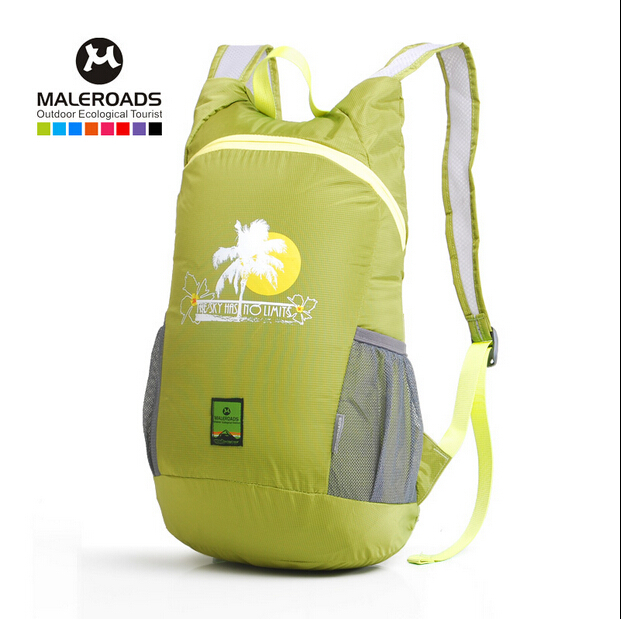 Promotion New Travel Bag 20 L Waterproof Outdoor Camping Backpack Unisex Zipper Sport Bags Men And Women Nylon Light Backpacks(China (Mainland))