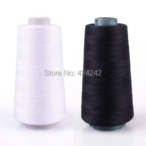 New Durable 3000M Yards Overlocking Sewing Machine Industrial Polyester Thread Metre Cones #45317(China (Mainland))