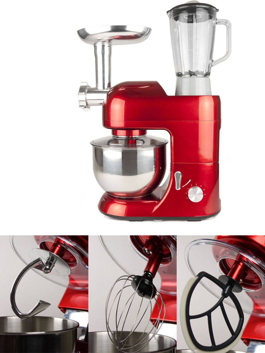 Multifunctional Food Meat Grinder & Blender Flexi Beater
