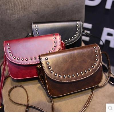 New 2015 Fashion Women Messenger Bags crossbody bolsos mujer Hand Bag for lady bolsa Tassel PU Leather mini black red Handbags<br><br>Aliexpress