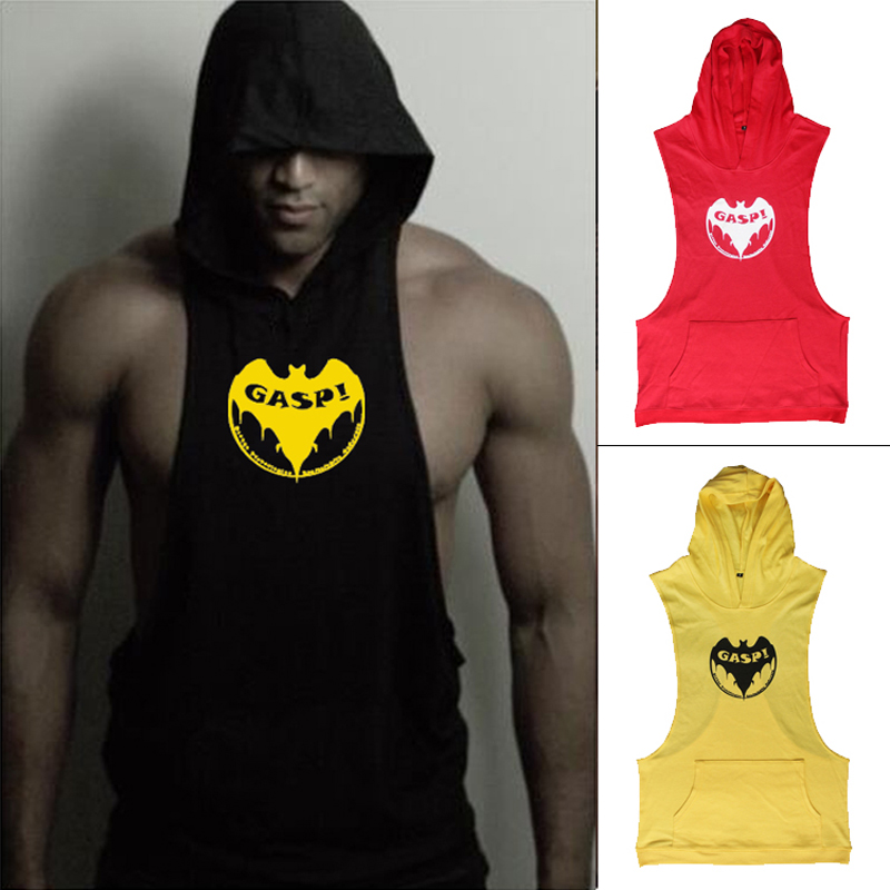 Stringer Hoodies Muscle Shirt Bodybuilding Clothing Gym