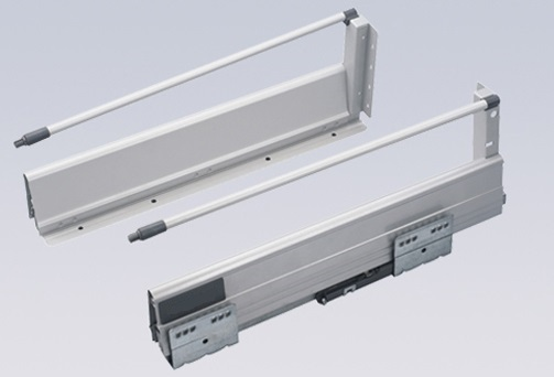 """4Pairs/LOT H143mm Double Wall 20"""" ( 500mm ) Soft Close Drawer Slide Runners Kitchen Bath Furniture Cabinet(China (Mainland))"""