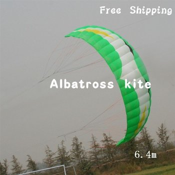 Pro Extreme 6.4M2 power kite for trainsurfing with 4 lines -- Free Shipping