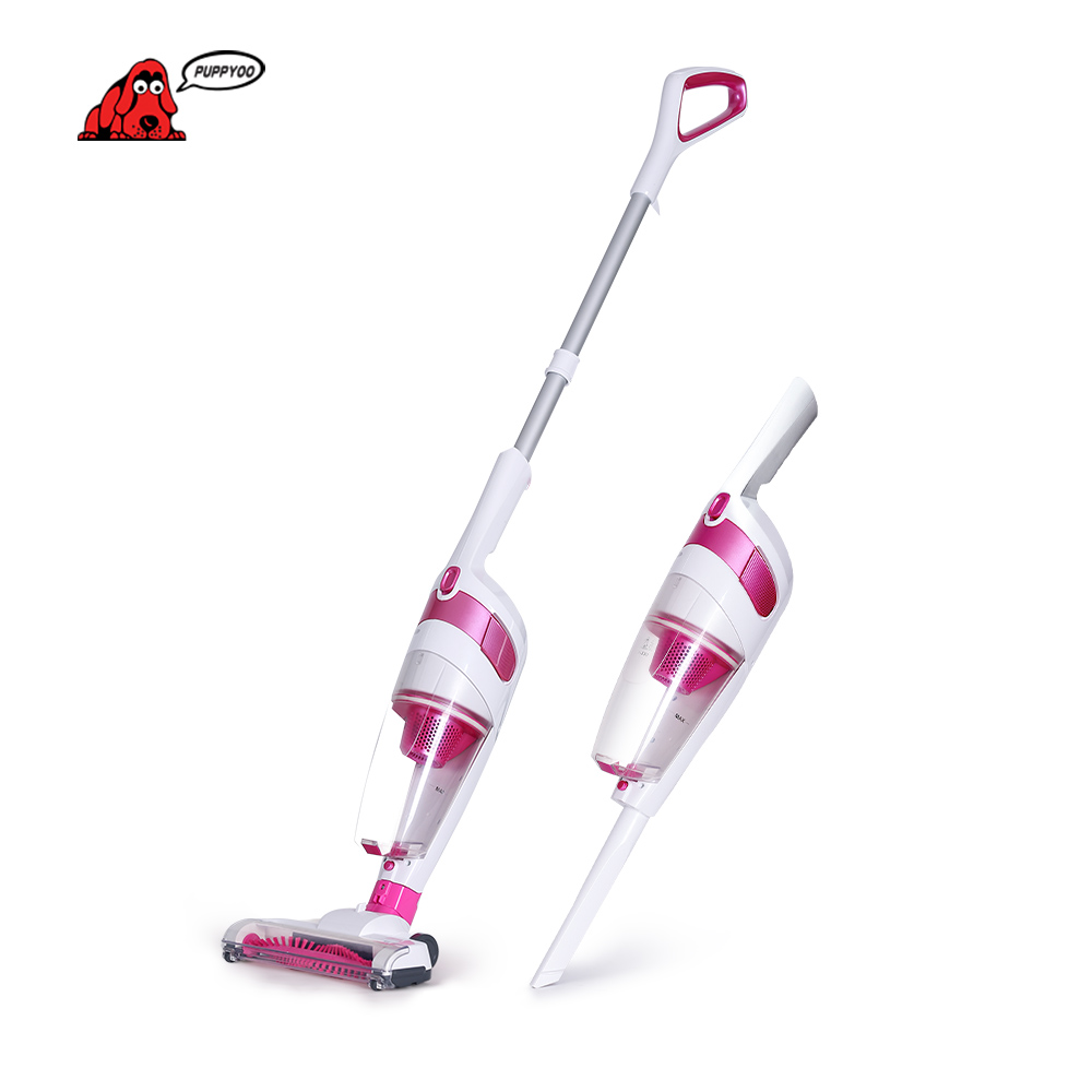 Low Noise Charge Wireless Home Rod Vacuum Cleaner Portable Dust Collector Home Aspirator Bobby Pink D-530 PUPPYOO()