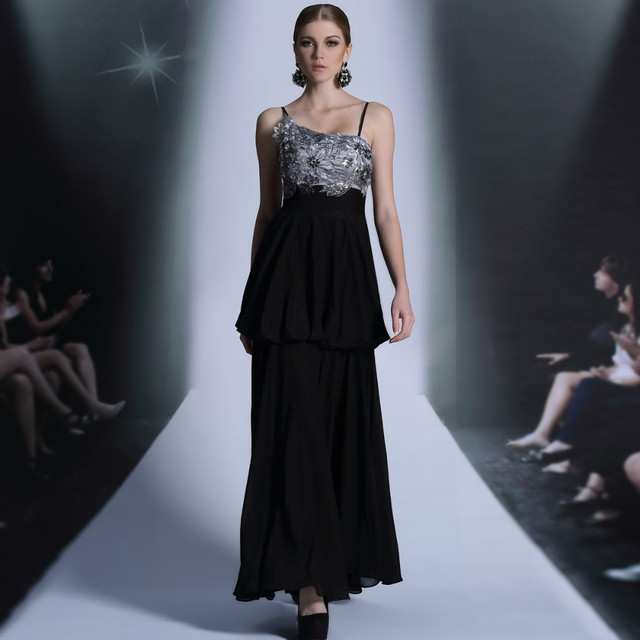 Free Shipping spaghetti strap floor length sexy DORISQUEEN 30871 evening dress new arrival long new fashion